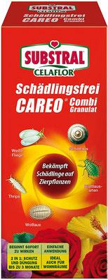 Mit dem Wirkstoff Acetamiprid bekämpft Combi-Granulat die fliegende Plage und schützt für bis zu 3 Monate nachhaltig.