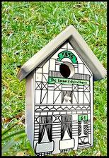 Houten Nestkastje Ardenne,  Vogelhuisje naar foto