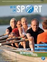 Cover der Wir im Sport Nummer 7, September 2010.