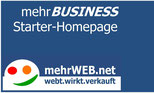 "mehrBUSINESS ""Starter-Homepage"" (Pro)"
