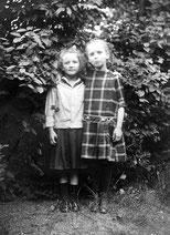 Die Freundinnen Margret und Elfriede