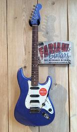 Squier Stratocaster, Farbe: Ocean-Blue-Metallic, Fender Squier Strat SSH, Fabiani Guitars Calw, Herrenberg, Nagold und Sindelfingen
