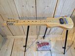 SX Lapsteel Gitarre mit Ständer, Slider E- Gitarre