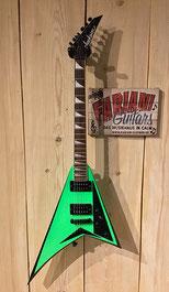 Jackson Rhoads Kawa RRXT, Kawasaki Ninja- Grün, Musikhaus - Gitarrenfachgeschäft - Fabiani Guitars 75365 Calw