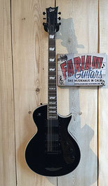 ESP LP Eclipse II, 24 Bünde, schwarz, Made in USA, Musik Fabiani Guitars Calw, Herrenberg, Stuttgart, Nagold