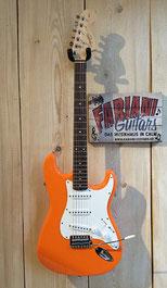 Squier E Gitarre Affinity Stratocaster, Farbe: Orange, Musikhaus 75365 Calw