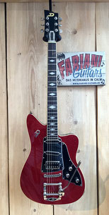 Duesenberg Paloma Red Sparkle, E Gitarre E Guitar, Made in Germany, Fabiani Guitars Calw, Pforzheim, Tiefenbronn, Weil der Stadt, Leonberg und Herrenberg