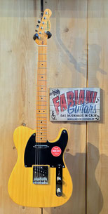Fender E- Gitarre Squier Telecaster, Butter Scotch Blond, Musikhaus Fabiani Guitars - 75365 Calw