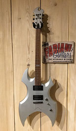 ESP LTD AX 50 E- Gitarre - Farbe: Silbermatt