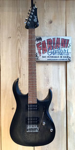 Cort X 100 E-Gitarre, Farbe: Open Pore Grey-Black, Musikhaus Fabiani Guitars, 75365 Calw, Herrenberg; Jettingen, Nagold, Altensteig