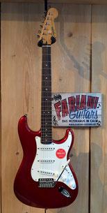 Fender Squier Strat Classic Vibe 60´s CAR Red, E-Gitarre Fender- Squier Straocaster, Rot metallic Fabiani Guitars Calw, Pforzheim, Stuttgart, Böblingen, Herrenberg, Nagold, Tübingen, Freudenstadt, Horb