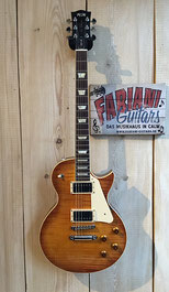 FGN LP E, Gitarre Neo Classic LS20 Ltd, Vintage Violin Burst - LP - Made in Japan, Musikhaus Fabiani Guitars 75365 Calw