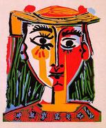Pablo Picasso Frau mit Hut