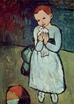 Pablo Picasso Mädchen mit Taube
