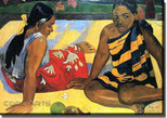Paul Gauguin Am Strand
