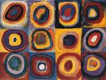 Wassily Kandinsky Konzentrische Kreise