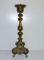 Großer Messingleuchter, Barock, Historismus, Höhe ca. 77,0 cm
