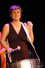 Sophie Sabourin, chanteuse dans le groupe vocal Les Goules Poly