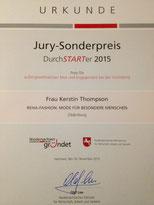 Urkunde DurchSTARTer 2015
