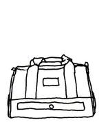 色が選べる旅行バッグ