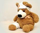 Unfallverletzung
