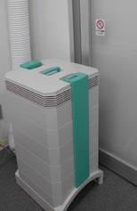 クリーンルーム化できる手術室用空気清浄化システム