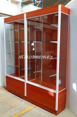 Vitrinas de madera, vitrinas para farmacia, aparador