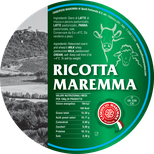ricotta mix mixed maremma sheep sheep's cow cow's cheese dairy caseificio tuscany tuscan spadi follonica label italian origin milk italy fresh tender cream panna