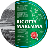 ricotta mix mixed maremma sheep sheep's cow cow's cheese dairy caseificio tuscany tuscan spadi follonica label italian origin milk italy fresh tender