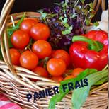 panier de fruits, légumes et produits secs à composer