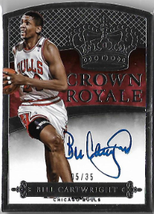 BILL CARTWRIGHT / Crown Royal - No. 102  (#d 5/35)