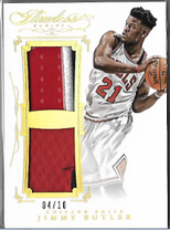 JIMMY BUTLER / Dual Patch - No. DP-JB  (#d 4/10)