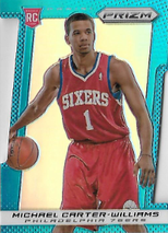 MICHAEL CARTER-WILLIAMS / Rookie DieCut - No. 265  (Prizm)
