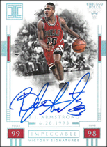 B. J. ARMSTRONG / Victory Signatures - No.  (#d 48/49)