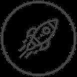 Symbol Rakete