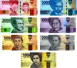 geldscheine-Indonesien