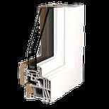 Découpe de fenêtre pvc kommerling