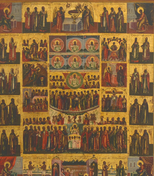 Ikone, Russland, 19. Jh.