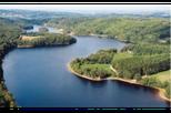 """Lac des Bariousses (Treignac) 99 hectares - Labelisé """"Pavillon Bleu"""""""