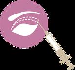 Oberlidstraffung Giessen - 2 Betaeubung - Bargello Aesthetik