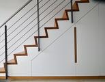 Einbauschrank unter die Treppe