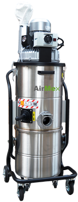 AirMex TIBO 18 ATEX Industriesauger mit Ex-Schutz Explosionsschutz Sicherheitssauger