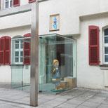 Foto zeigt den Eingang des Markgrafen-Museum von Aussen