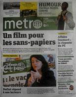 Clic = site Metro...