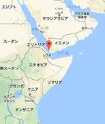 エチオピアとモカ MAP