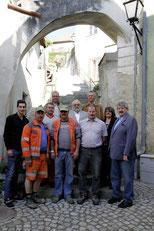 Die Renovierung der Rugenstiege ist abgeschlossen. © Stadt Krems.
