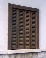 typical island window shutters