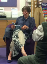 Morag at her book launch