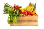 Obst- und Gemüse liefern lassen
