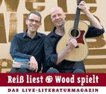 Reiß liest - Wood spielt - Termine mit Sebastian Reiß